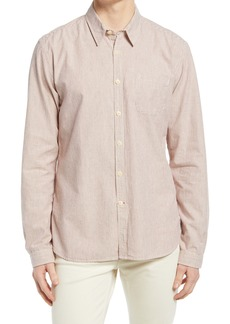 Oliver Spencer New York Special Slim Fit Stripe Button-Up Shirt