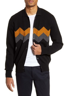 Oliver Spencer Roxwell Knit Wool Jacket