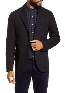 Oliver Spencer Solms Slim Fit Wool & Cotton Jacket