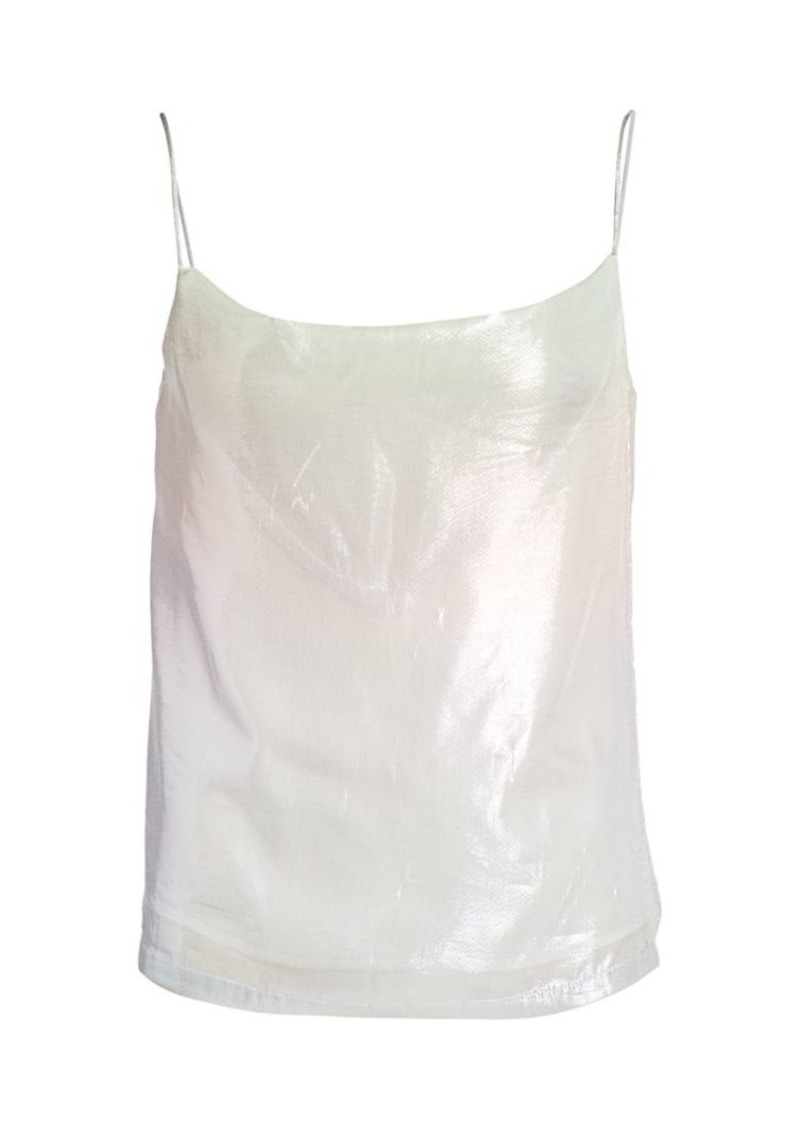 Olivia Rubin Cover Shimmer Silk Camisole