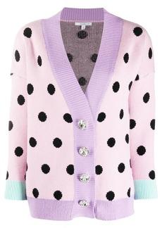 Olivia Rubin polka-dot cardigan