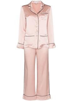 Olivia von Halle Coco two-piece pyjama set