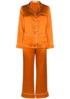 Olivia von Halle Coco silk pyjama set