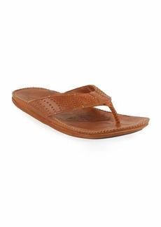 OluKai Hoe Perforated Thong Sandal