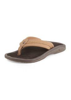 OluKai Hokua Trench Thong Sandals