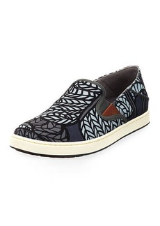 OluKai Men's Kahu Pow Wow Fabric Sneakers