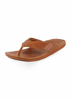 Olukai Hoe Perforated Thong Sandal