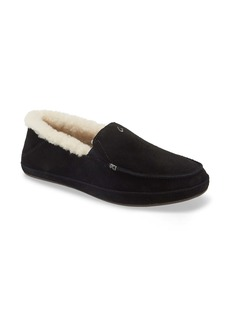 OluKai Ku'una Genuine Shearling Slipper (Women)