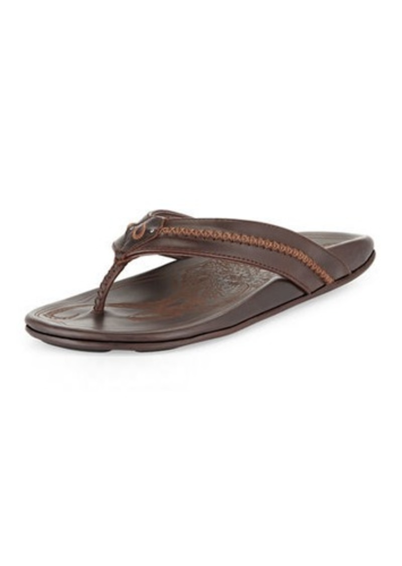 732dcbb55b44 OluKai Mea Ola Men s Thong Sandals