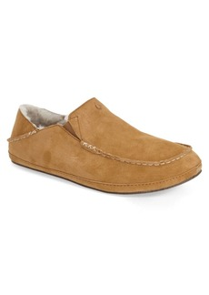 OluKai 'Moloa' Genuine Shearling Slipper (Men)