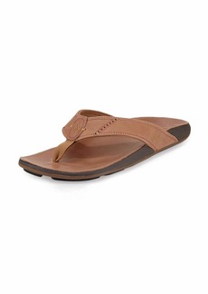 Olukai Nui Leather Thong Sandal