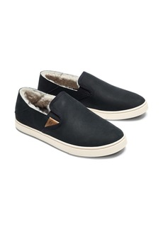 OluKai Pehuea Heu Genuine Shearling Slip-On Sneaker (Women)