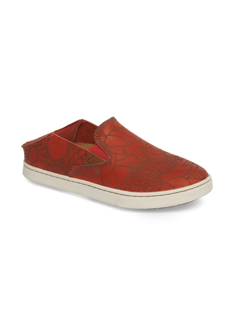 Olukai Glissement Pehuea Lau Sur Sneaker (femmes) ebay Faible Coût De Réduction Sortie D'usine En Ligne JCSIRlpJ1E