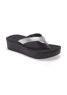 OluKai Pio Lua Platform Flip Flop (Women)