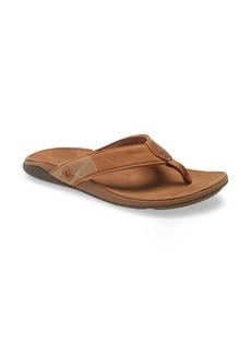 OluKai Tuahine Waterproof Flip Flop (Men)