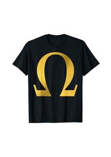 Alpha Omega Letter Greek Alphabet T-Shirt