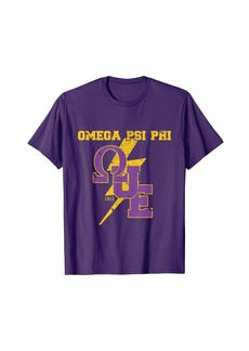 Mens Omega Fraternity Psi Gear Phi Merch Frat Gift Mens Apparel T-Shirt