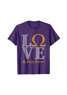 Omega Fraternity Psi Gear Phi Merch Frat Gift Mens Apparel T-Shirt