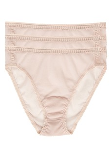 On Gossamer 3-Pack Mesh High Cut Briefs