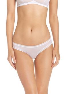 On Gossamer Mesh Bikini