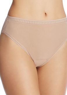 On Gossamer Mesh High-Cut Briefs