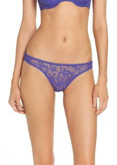 On Gossamer Racey Lace Thong (3 for $33)