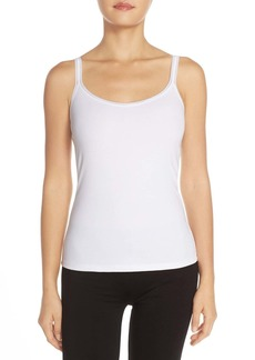 On Gossamer Reversible Stretch Cotton Camisole