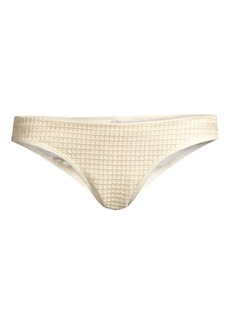 OndadeMar Dreambay Low-Rise Ruched Bikini Bottoms