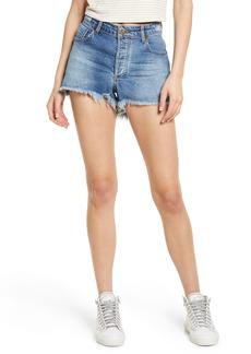 Women's One Teaspoon Bonita High Waist Cutoff Denim Shorts