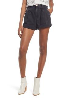 Women's One Teaspoon High Waist Denim Shorts