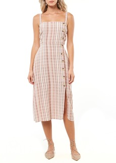 """O'Neill Amalfi Stripe Woven Midi Dress40"""""""