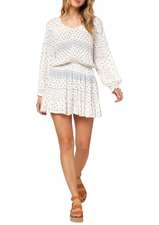 O'Neill Amaryn Long Sleeve Minidress