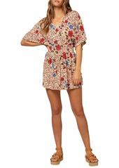 O'Neill Amaze Short Sleeve Woven Dress