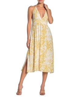 O'Neill Andre Halter Neck Midi Dress