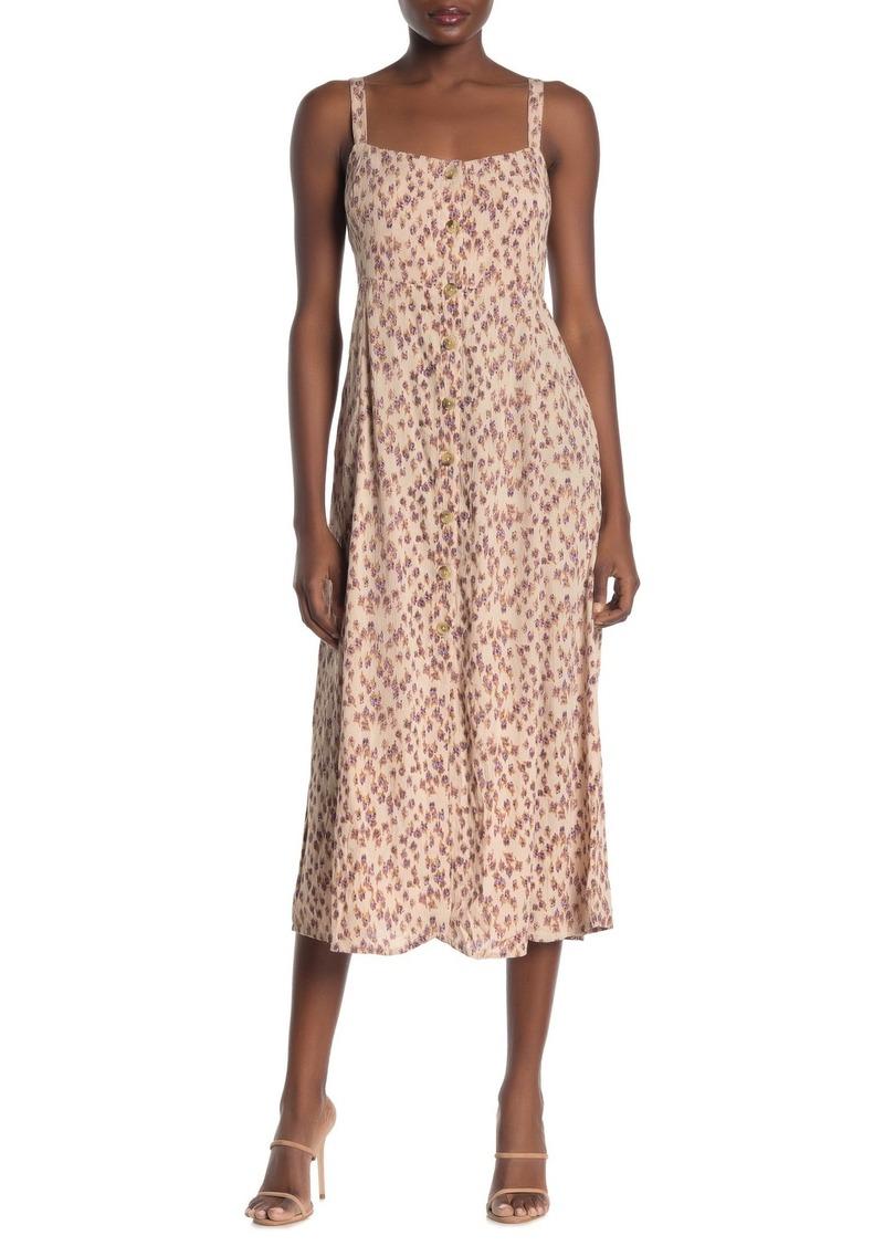 O'Neill Bettie Floral Maxi Dress