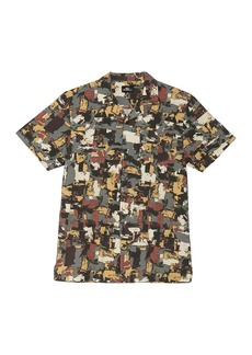 O'Neill Brushed Short Sleeve Printed Standard Fit Shirt