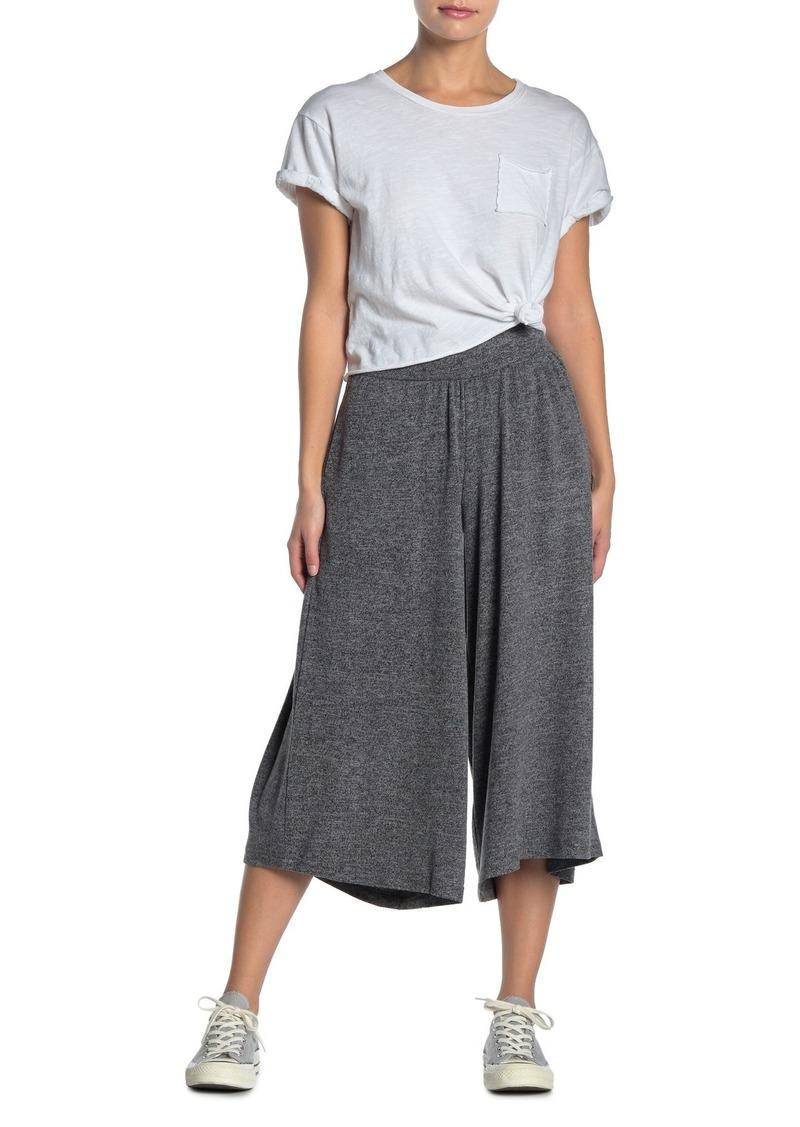 O'Neill Cappuccino Knit Wide Leg Crop Pants