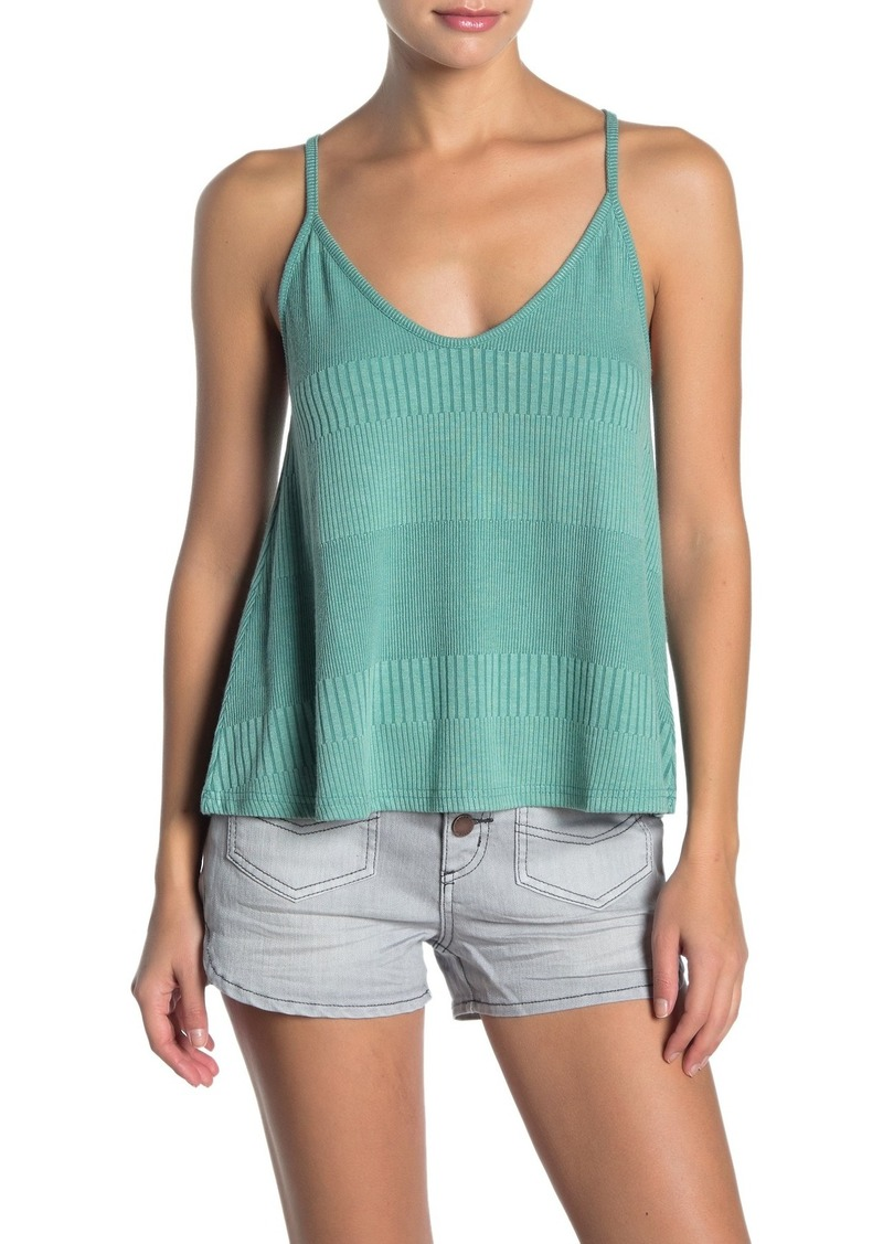O'Neill Charleston Ribbed Knit Tank Top