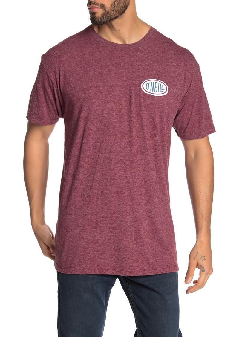 O'Neill Gasser Heathered Logo T-Shirt