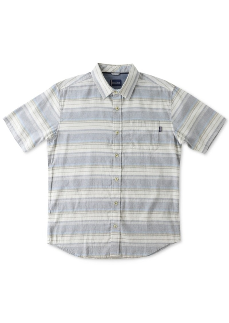 Jack O'Neill Men's Avalon Striped Short-Sleeve Shirt