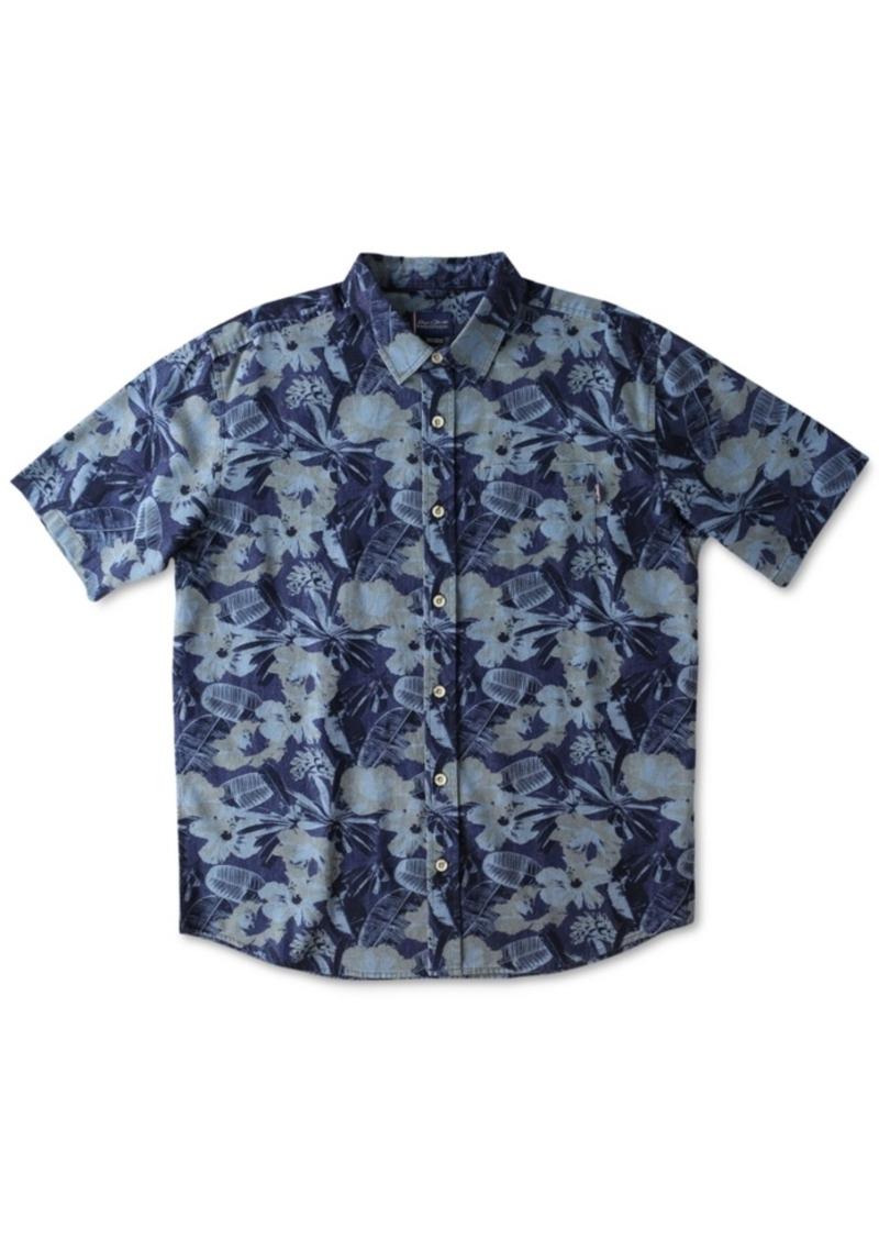 Jack O'Neill Men's Bien Floral-Print Short-Sleeve Shirt