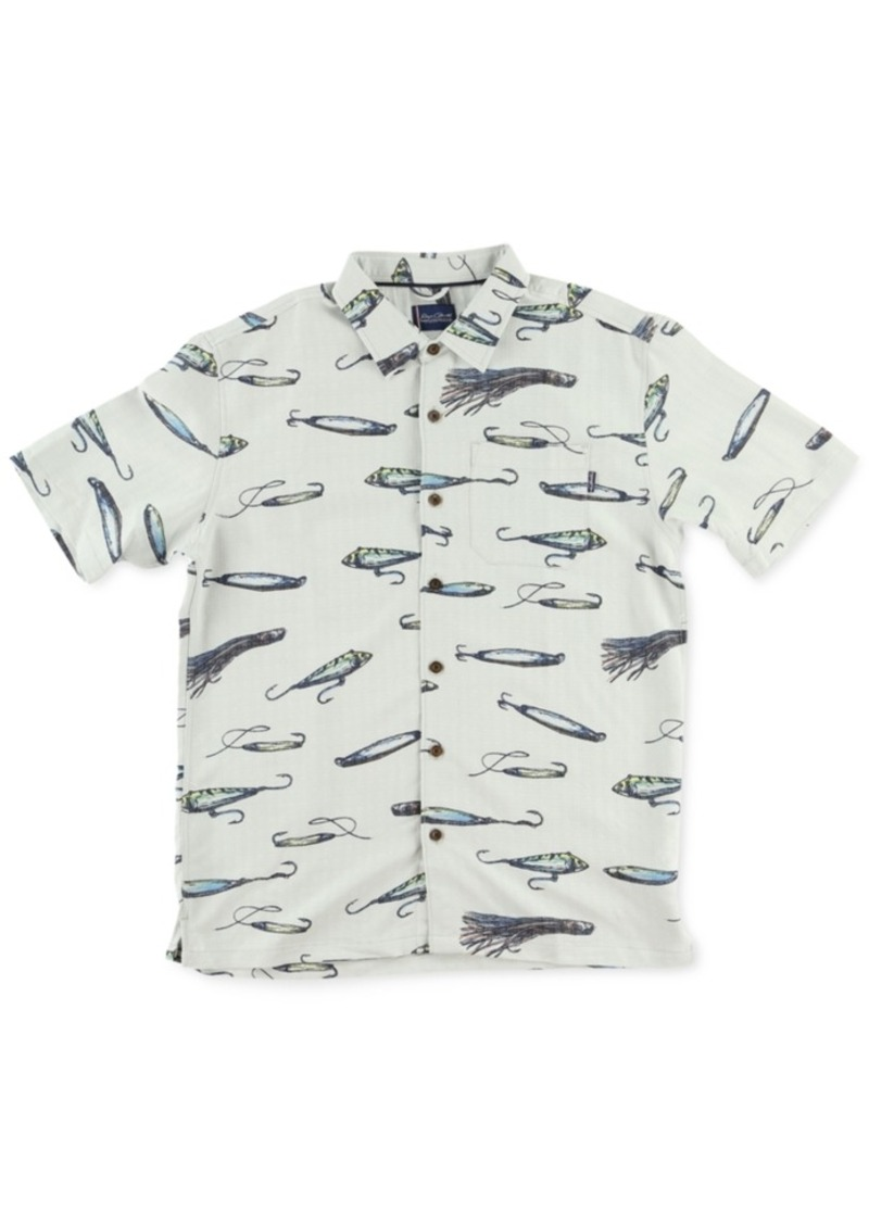 Jack O'Neill Men's Lures Short Sleeve Shirt