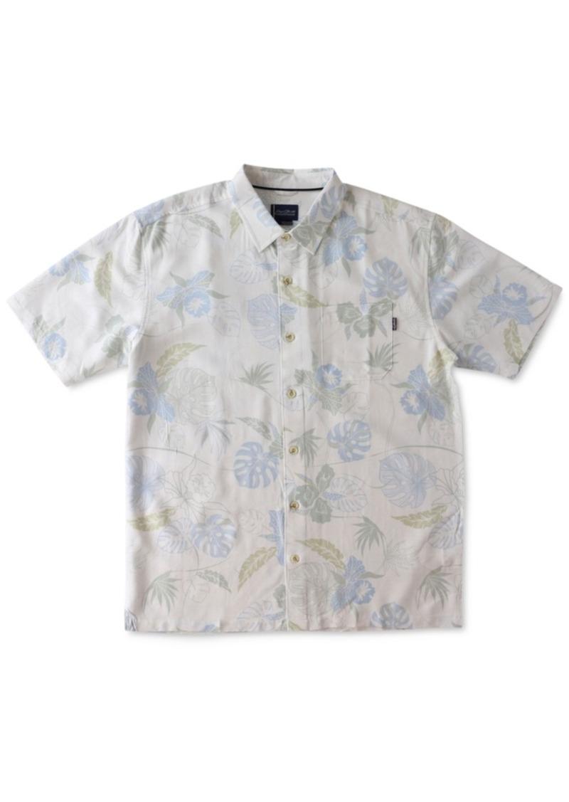 Jack O'Neill Men's Oceanside Floral-Print Short-Sleeve Shirt