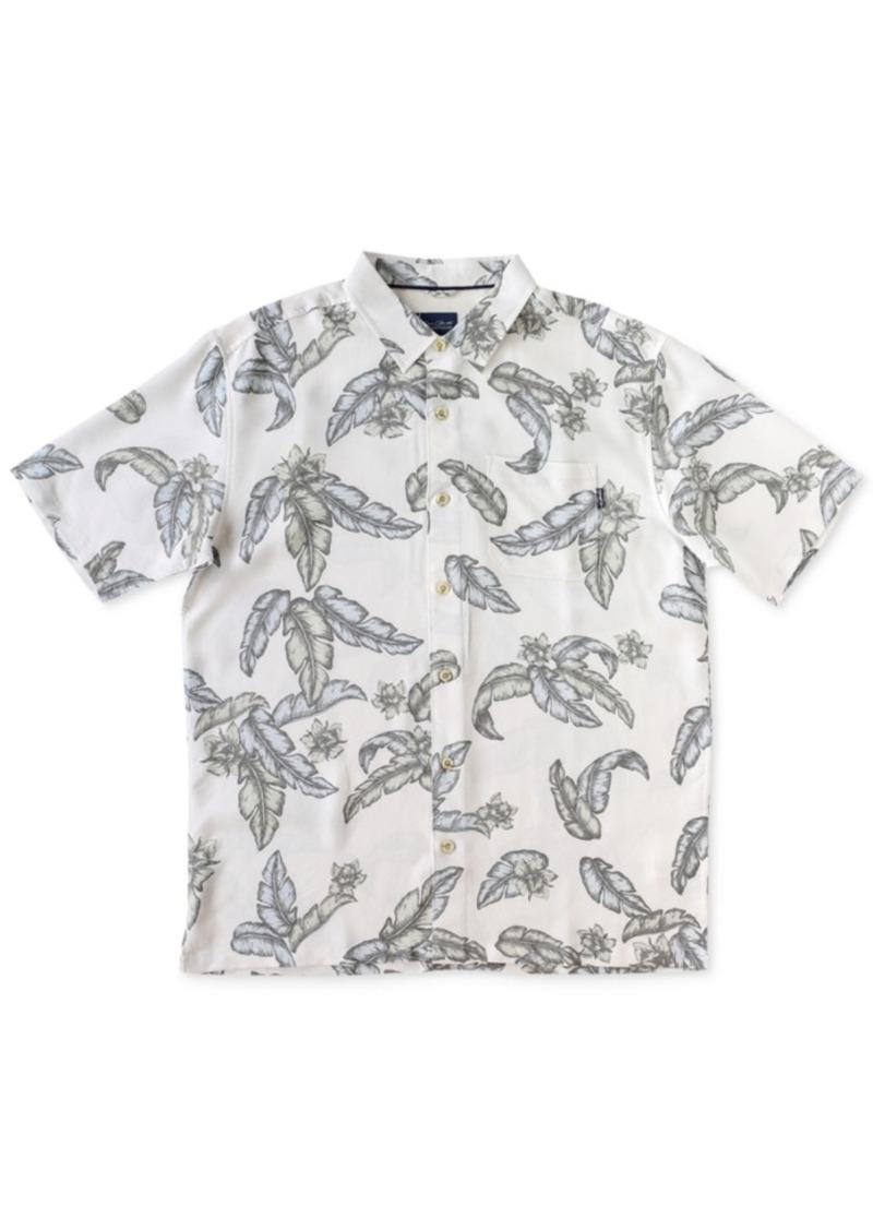 Jack O'Neill Men's Palm Grande Tropical Short-Sleeve Shirt