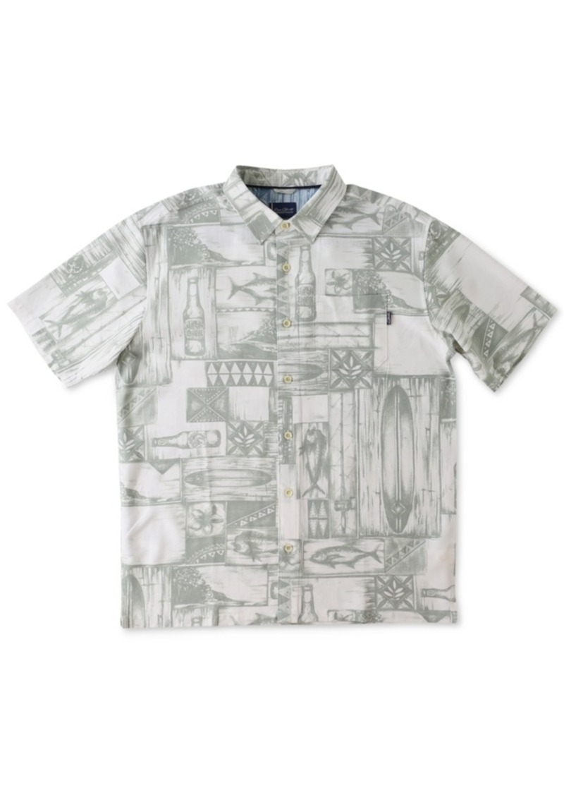 Jack O'Neill Men's Short-Sleeve Print Shirt