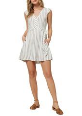 O'Neill Jamyson Woven Stripe Dress