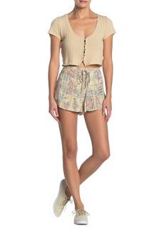 O'Neill Jayden Patterned Lace-Up Shorts