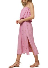 O'Neill Koia Strapless Popover Midi Dress