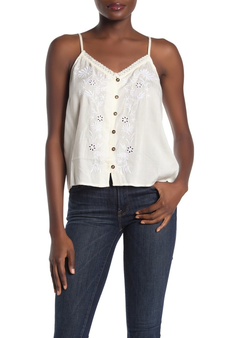 O'Neill Lylah Embroidered Top
