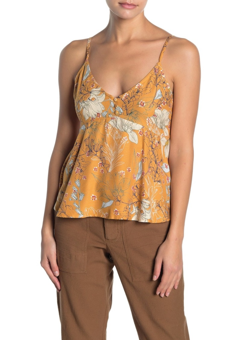 O'Neill Madison Floral Print Cami